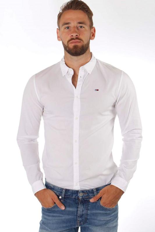 """TOMMY HILFIGER Herren Hemd - """"LIGHT POPLIN Shirt white"""""""