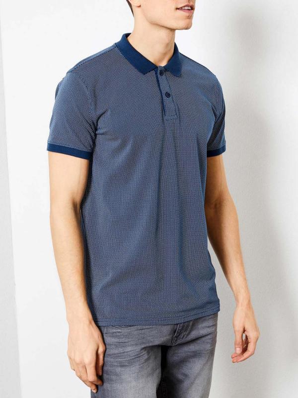 "PETROL Herren Poloshirt - ""Polo ss petrol blue"""