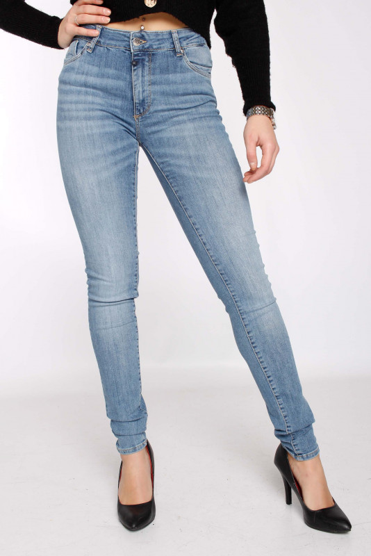 "CUP OF JOE Damen Jeans - ""Emily Denim light blue"""