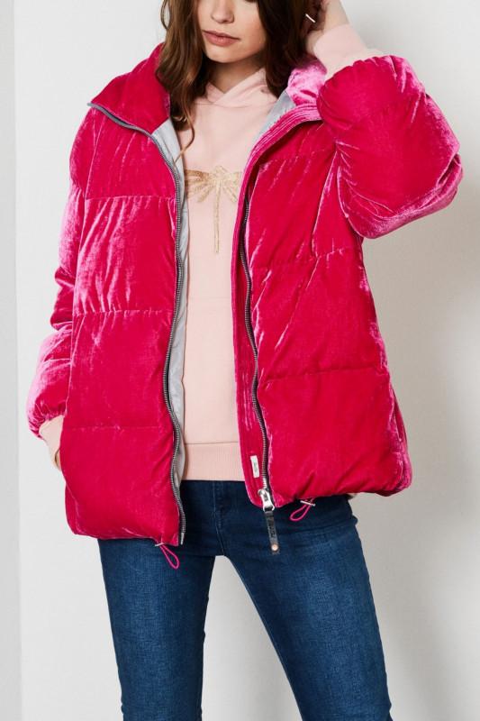 """PETROL Damen Jacke - """"Velvet oversized Jacket"""""""