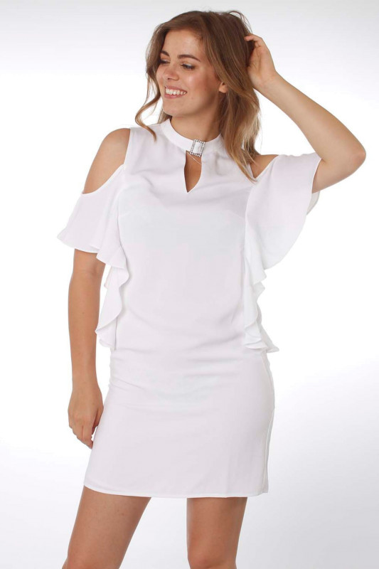 "Guess Damen Kleid - ""Greta Dress white"""