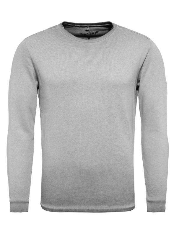 "KEY LARGO Herren Sweatshirt - ""LEVEL round grey"""