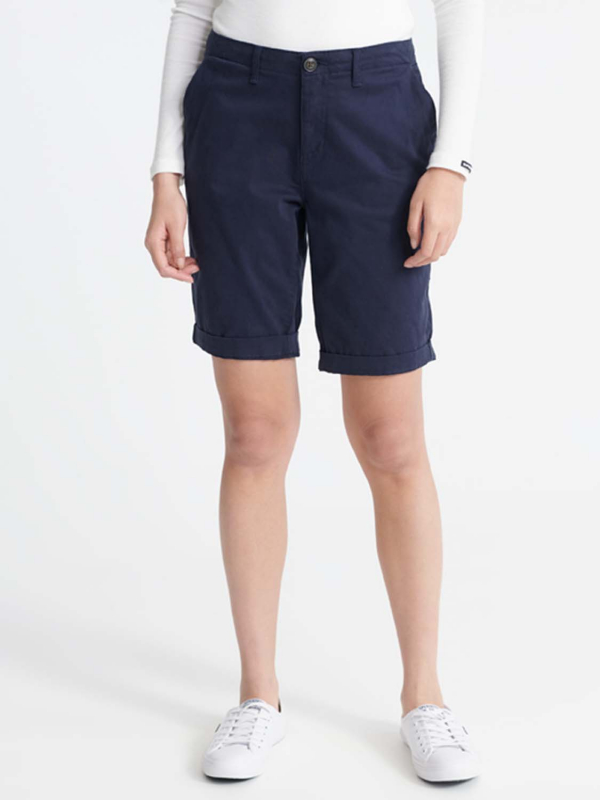 "Superdry Damen Shorts - ""CITY CHINO SHORT ATLANTIC NAVY"""