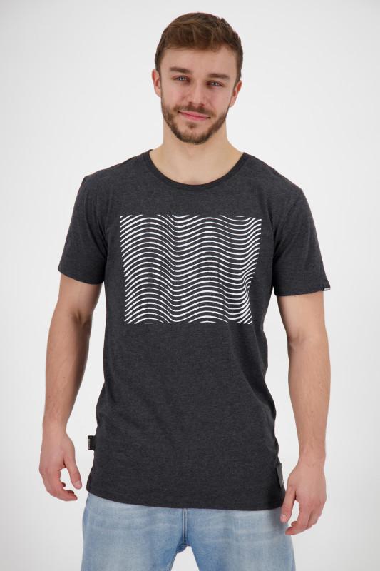 "ALIFE AND KICKIN Herren T-Shirt - ""Logo Icon Shirt moonless"""