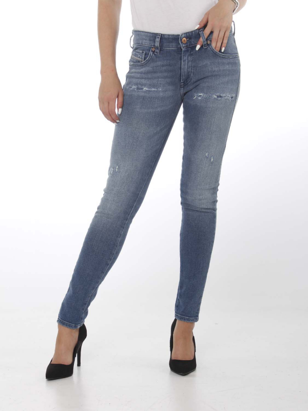 "DIESEL Damen Jeans - ""SLANDY-LOW denim 083AP"""