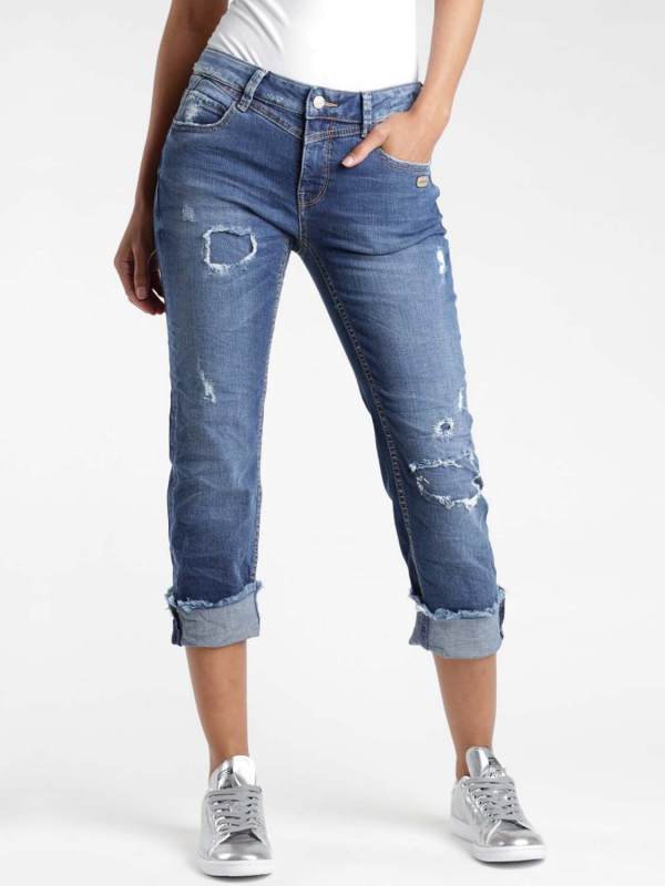 """Gang Damen Jeans - """"Luisa Straight Fit X Cropped Jeans Yve Denim Soft"""""""