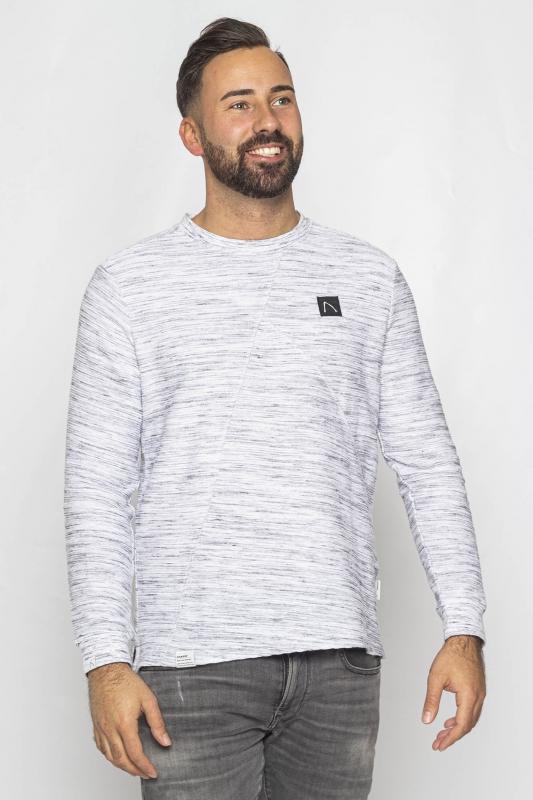 "CHASIN' Herren Sweatshirt - ""ALLAMO light grey"""