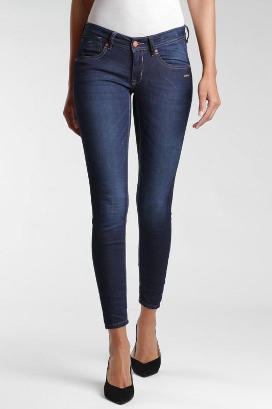 "GANG Damen Jeans - ""Faye Cropped Fit Skinny Jeans dark montana"""