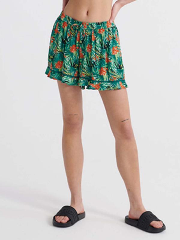 """Superdry Damen Shorts - """"SUMMER BEACH SHORT NEON TROPIC"""""""