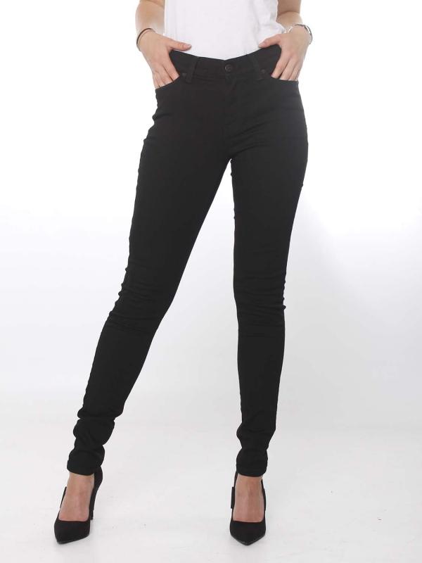 "Tommy Hilfiger Damen Jeans - ""Nora Mid Rise skinny dana black stretch"""