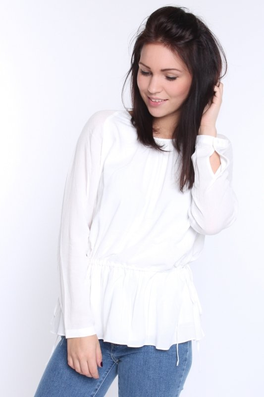 "SAMSOE SAMSOE Damen Bluse - ""Maid LS Bluse clear cream"""