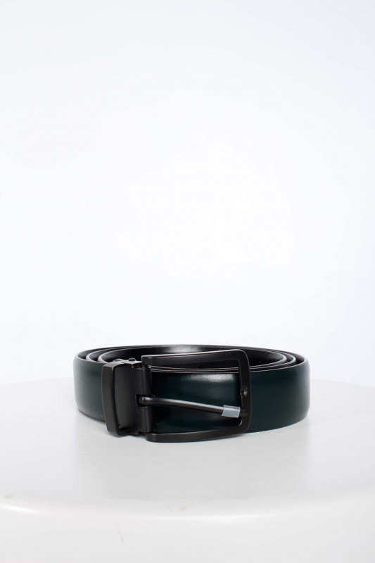 "SCOTCH & SODA Herren Gürtel - ""Reversible leather belt black"""