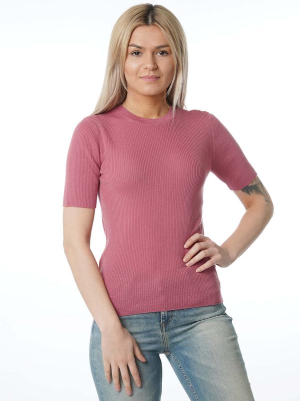 "Samsoe & Samsoe Damen T- Shirt - ""Hera T-Shirt heather rose col."""
