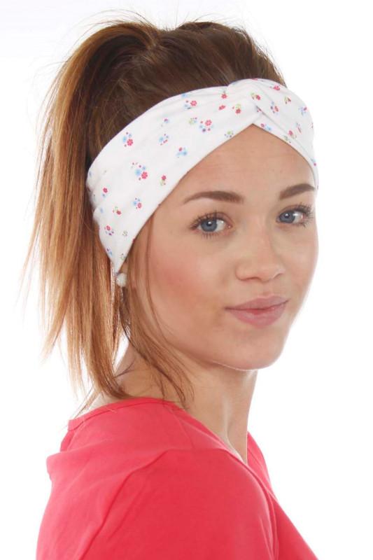 "Strange Damen Stirnband - ""Headband Summer white/ colorful"""