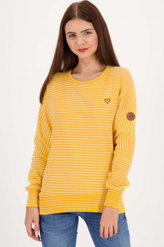 "ALIFE&KICKIN Damen Sweatshirt - ""Darla Crewneck amber"""