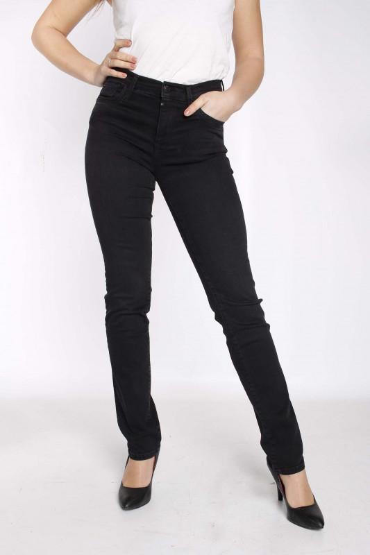 """CUP OF JOE Damen Jeans - """"HANNAH black vintage"""""""