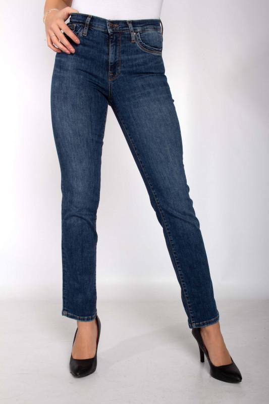 "CUP OF JOE Damen Jeans - ""HANNAH blue vintage"""