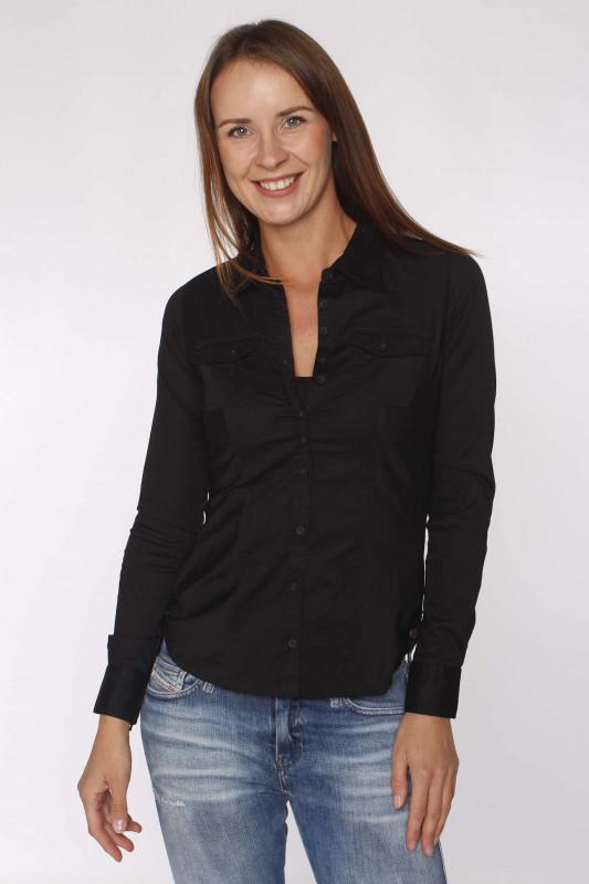 "STRANGE Damen Bluse - ""ANNE black"""