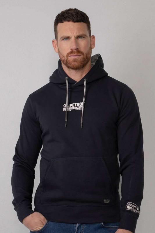 """PETROL Herren Sweatshirt - """"Men Sweater Hooded dark navy"""""""