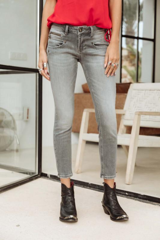 "FREEMAN T. PORTER Damen Jeans - ""Alexa Cropped S-SDM fataly"""