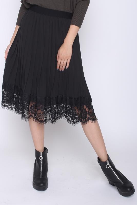 "FREEQUENT Damen Rock - ""Lisse Skirt black"""