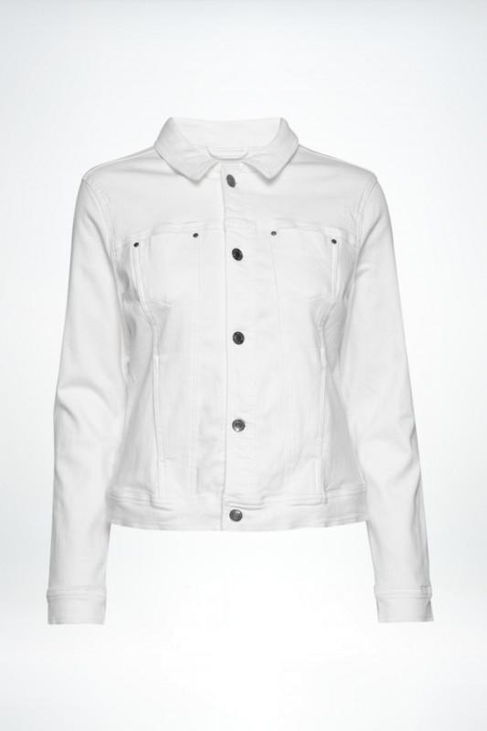 "FREEQUENT Damen Jacke ""Alba-ja-power bright white"""
