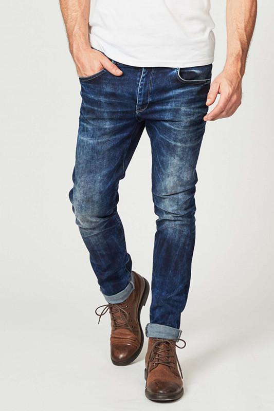 """PETROL Herren Jeans - """"Seaham Slim Fit dark steel"""""""