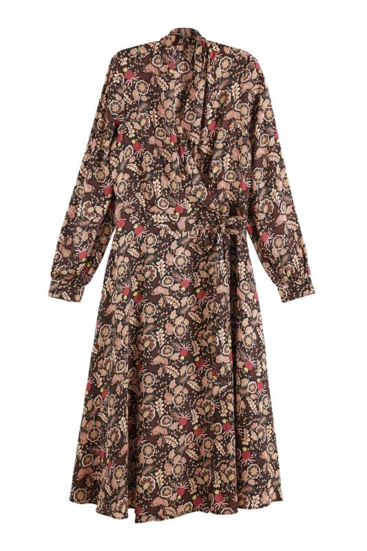 "SCOTCH & SODA Damen Kleid ""Belted wrap dress Combo A"""
