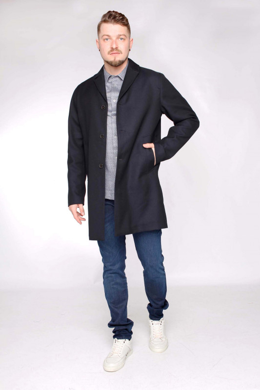 "SAMSØE & SAMSØE Herren Mantel ""Mola coat col. 11433"""