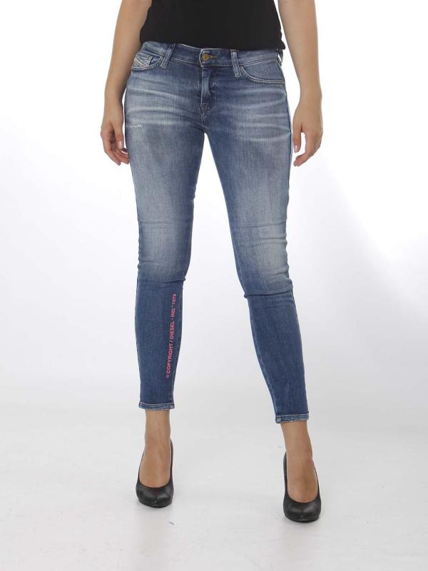 "Diesel Damen Jeans - ""Slandy Denim 009CJ"""