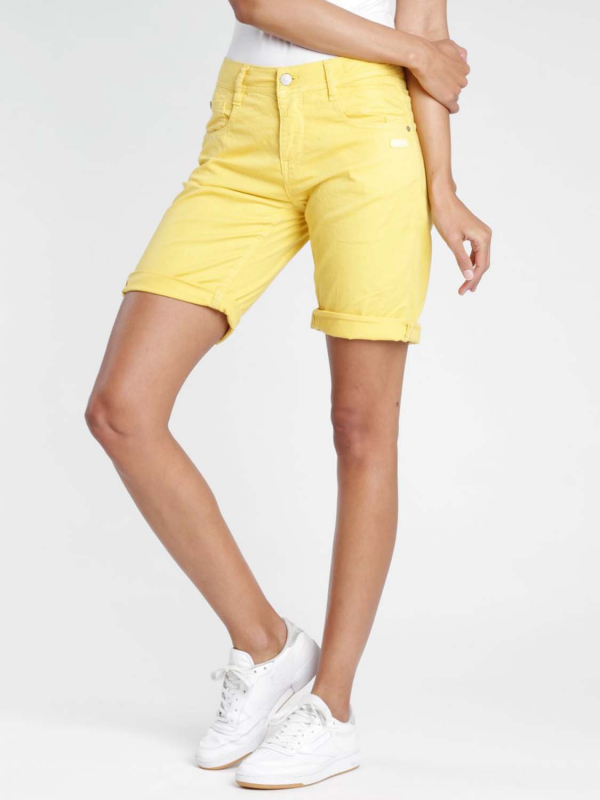 "Gang Damen Shorts - ""Amelie light base yellow orange"""