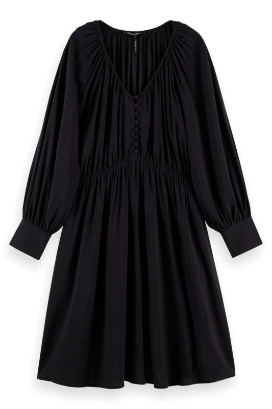 "SCOTCH & SODA Damen Kleid - ""Shorter length Dress with gath"""