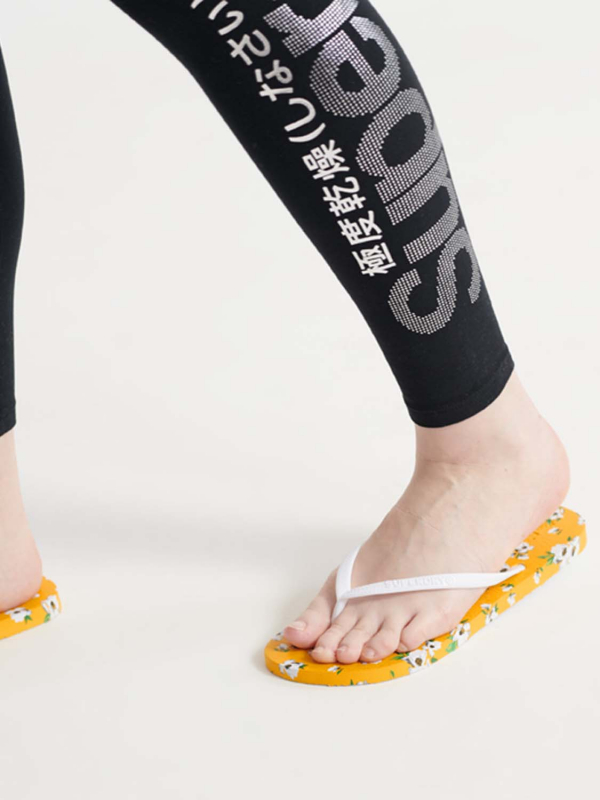 "Superdry Damen Flip Flops - ""SUPER SLEEK AOP FLIP FLOP YELL"""
