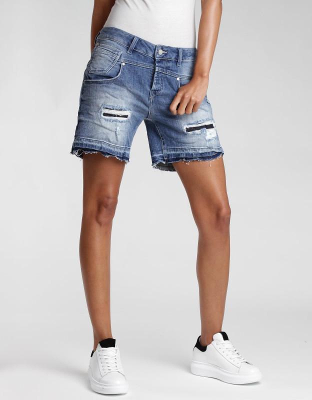"Gang Damen Shorts - ""Bo blue Denim"""