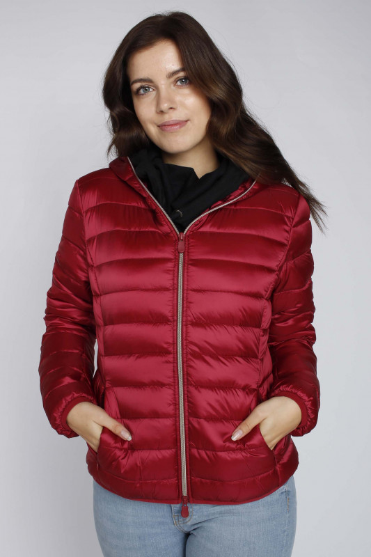 "SAVE THE DUCK Damen Jacke - ""IRIS ruby red"""