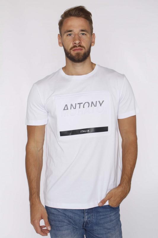"ANTONY MORATO Herren T-Shirt - ""T-Shirt r-neck Print FA100144"""