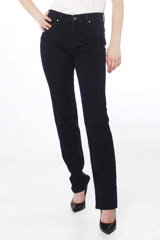 """WRANGLER Damen Jeans - """"Straight blue black"""""""