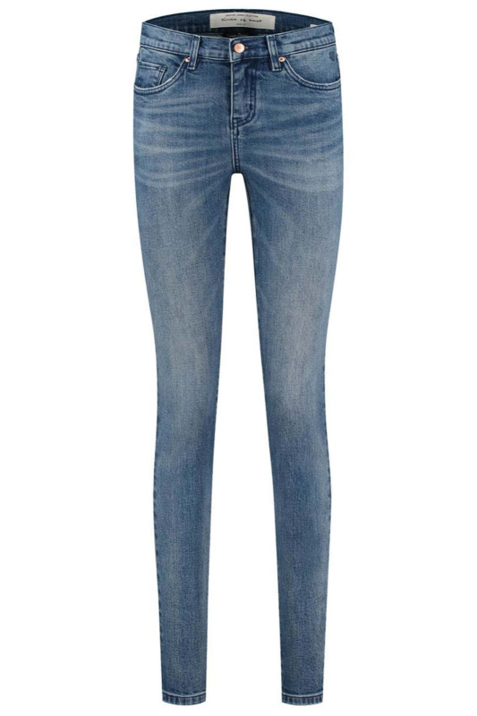 """CIRCLE OF TRUST Damen Jeans - """"Pippa whipped blue"""""""