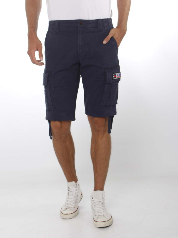 "TOMMY HILFIGER Herren Shorts - ""Solid Cargo Short navy"""
