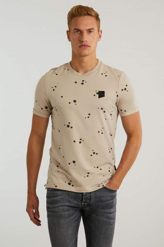 """CHASIN' Herren T-Shirt - """"Leon T-Shirt taupe"""""""