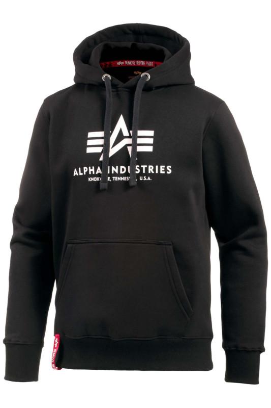 "ALPHA INDUSTRIES Herren Sweatshirt - ""Basic Sweater black"""