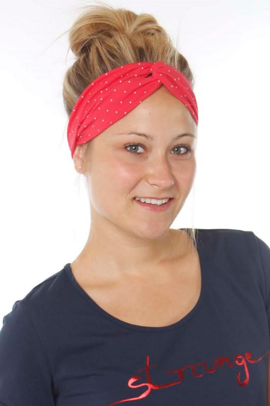 """Strange Damen Stirnband - """"Headband Summer magenta/ dots"""""""