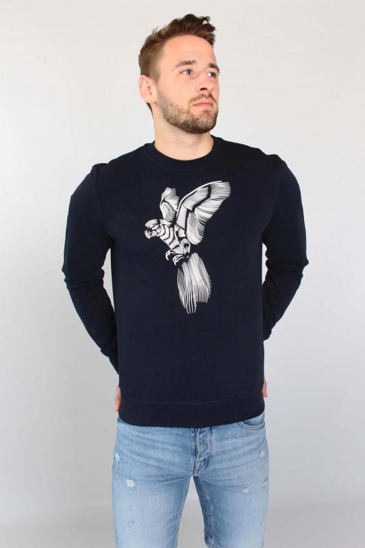 """ANTONY MORATO Herren Sweatshirt - """"Sweatshirt FA150137 blue ink"""""""