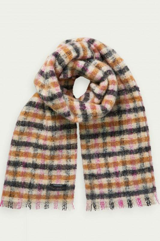 "SCOTCH & SODA Damen Schal - ""Chunky scarf in checked patter"""