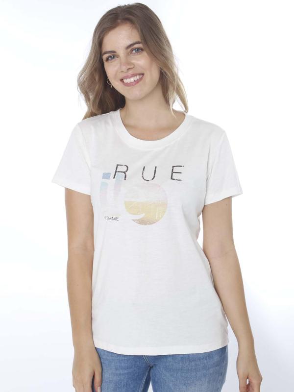 """Rue de Femme Damen T-Shirt - """"Rue art tee col.2"""""""