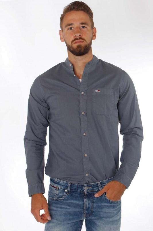 """TOMMY HILFIGER Herren Hemd - """"MAO Collar Oxford Shirt fade"""""""