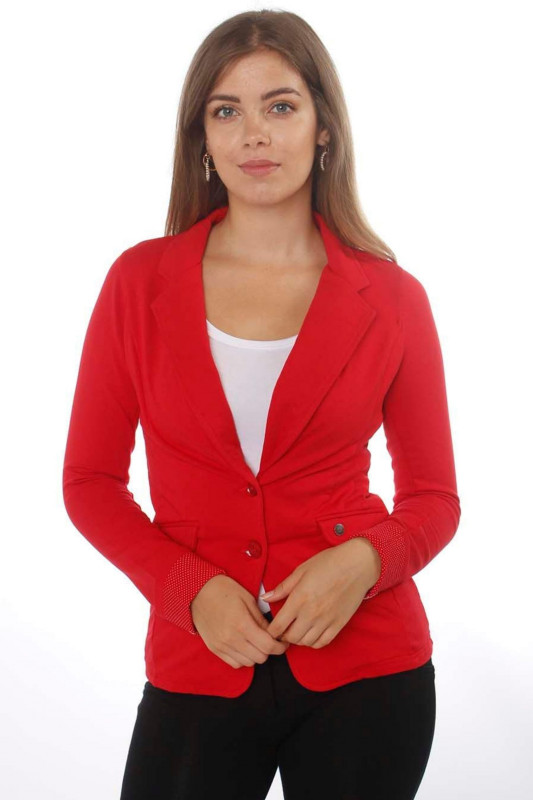 "STRANGE Damen Blazer - ""MARTINA red"""