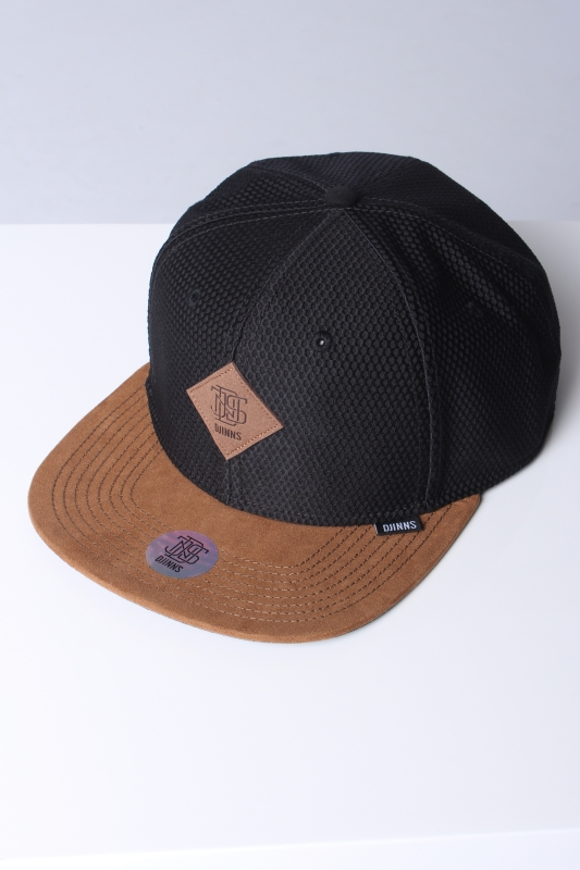 "DJINNS Herren Cap - ""SB honey knit black"""