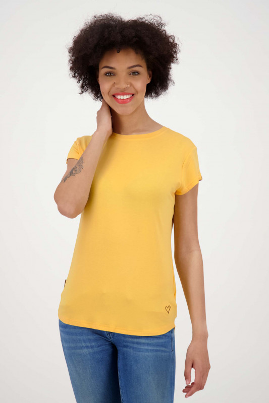 "ALIFE AND KICKIN Damen T-Shirt - ""MimmyA shirt amber"""