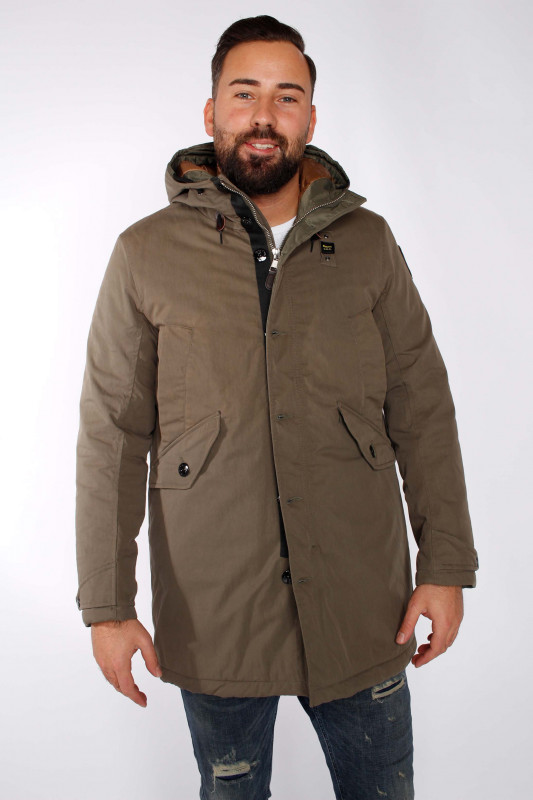 "BLAUER USA Herren Winterjacke - ""Impermeabile trench bosco co"""